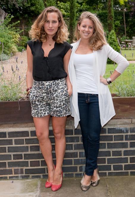 Charlotte Dellal and Lydia Forte