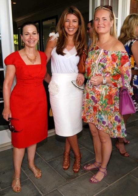 Bettina Zilkha, Nina Garcia, and Natalie Leeds Leventhal