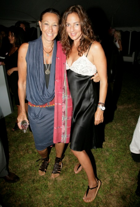 Donna Karan and Kelly Klein