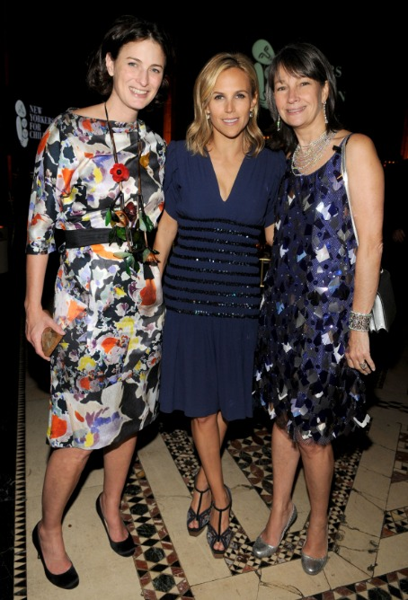 Marina Rust Connor, Tory Burch, and Brooke Neidich